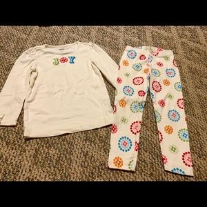 Gymboree two piece outfit